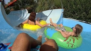 Blue Waves Water Slide at Acqua Plus