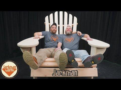 Building a Big Comfy Adirondack Chair