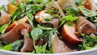 Fresh Peach & Prosciutto Salad Recipe - Woolworths