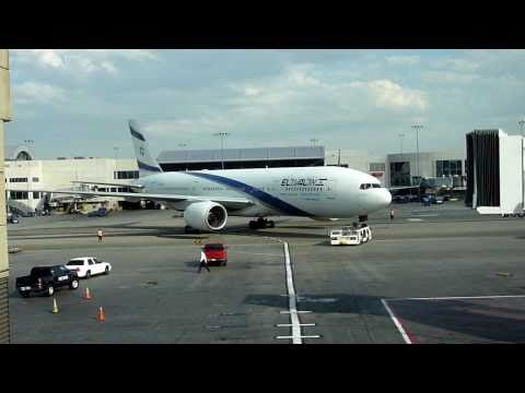 El Al security : Don't point at the aircraft!