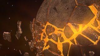 Blender Tutorial: Planet Bursting into Pieces