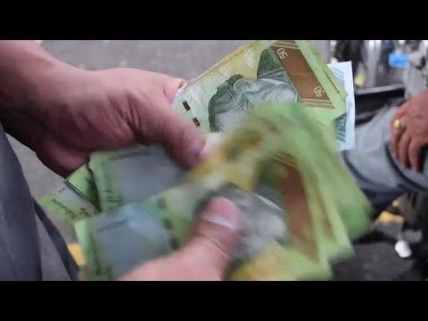 Cash shortage increasing crisis in Venezuela