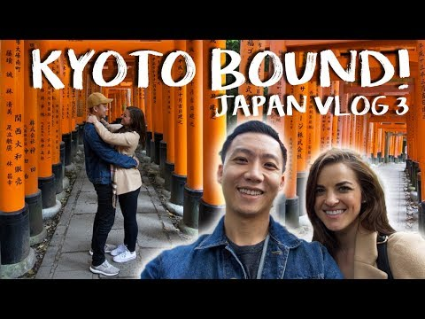 Japan Vlog 3: Kyoto Bound!