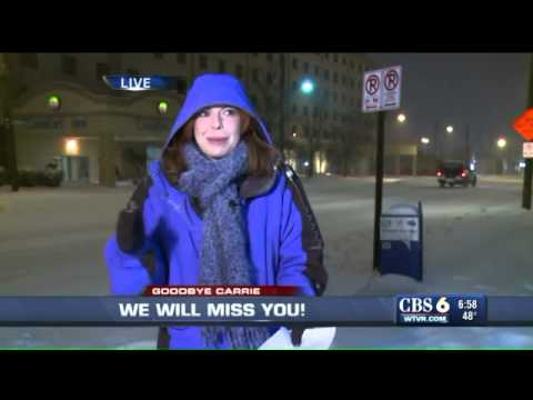 WATCH: Carrie Rose says goodbye to WTVR CBS 6 viewers