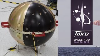 Lunar X Prize Extended and Space Experiments Return to Earth - Space Pod 05/26/15