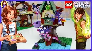 Lego Elves Treetop Hideaway Unboxing Speed Build Review And Play - Kids Toys