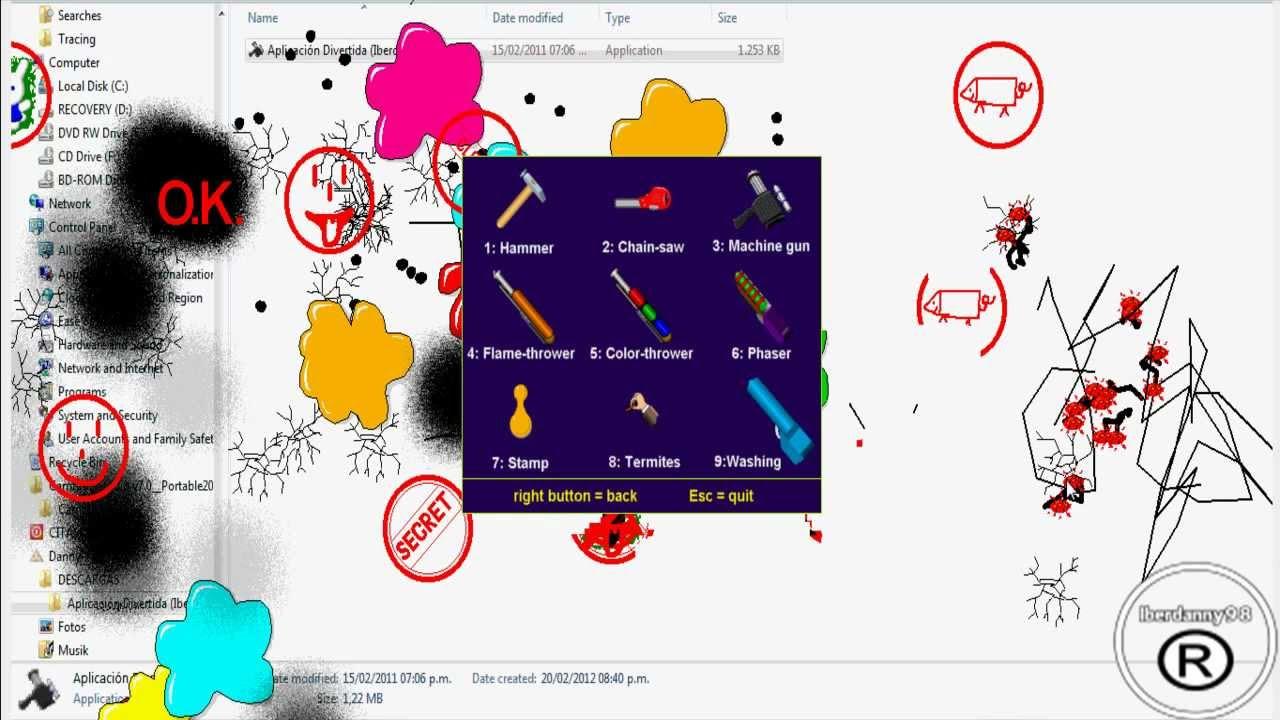 Como descargar el juego para destruir el escritorio youtube - Juego de escritorio ...