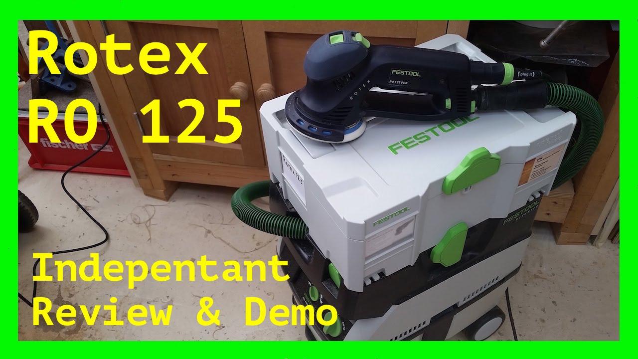 Verrassend Festool Rotex 125: 100% independent, Honest, review & Demo - YouTube QZ-65