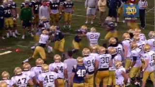 Notre Dame Football Spring Practice Update - March 25, 2013
