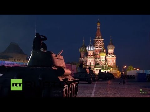 LIVE: Victory Day fireworks and concert in Moscow