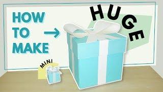 巨大30公分爆炸禮物盒教學(中文字幕請開設定)  / How to make huge explosion box tutorial   安妮, 手作吧! thumbnail