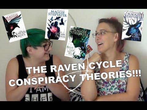 THE RAVEN CYCLE CONSPIRACY THEORIES   K.N. CLEM & RACHEL ERMATINGER (SPOILERS!!!!!!!)