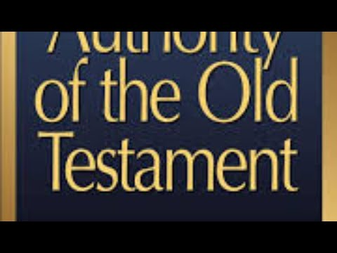 """Dr. John Bright's """"The Authority Of The Old Testament,"""