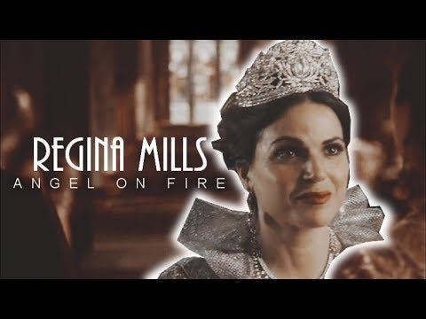 🔥Regina Mills | Angel on Fire