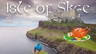 A Vegan Castle on the Isle of Skye  |  Scotland Travel Vlog