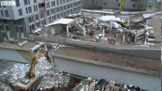 Latvia supermarket remains demolished after collapse