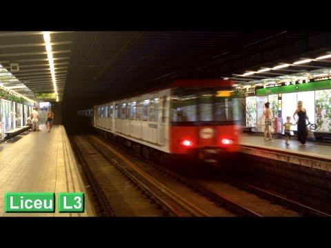Metro de Barcelona : Liceu L3 ( TMB 3000 )