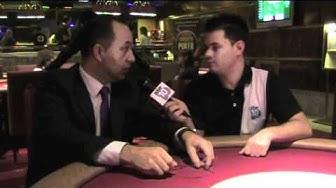 Entrevista con el responsable de poker del Casino Castilla-León