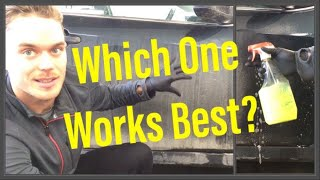 Removing Thick Traffic Film and Road Grime: Which Cleaner Works Best?