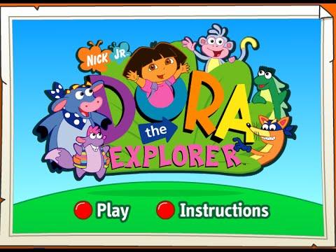 Dora Video Games Online Free Preschool Computer Games