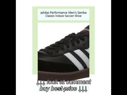 adidas performance mens samba classico scarpa da calcio indoor su youtube