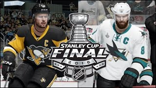NHL 16 (Xbox One): Stanley Cup Final Game 5 - Sharks vs Penguins Simulation