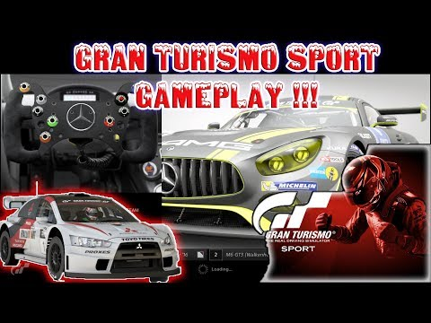 Gran Turismo Sport Gameplay ( Drifiting in offroad and High speed in Track )