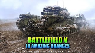 Battlefield V - 10 AMAZING Changes You Didn't Know About
