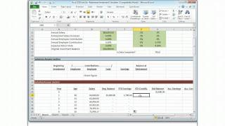 Acct 232B Unit Six--Retirement Investment Calculator