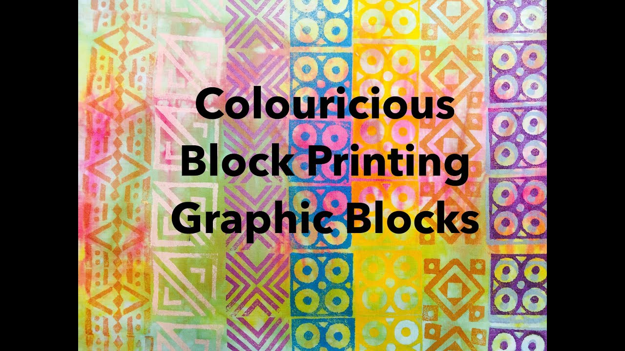 Quilting fabric - Create Your Own Fabric With Block Printing - Graphic  Designs