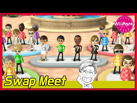 Wii Party (Wii パーティー) Swap Meet (Master Com, Eng Sub)