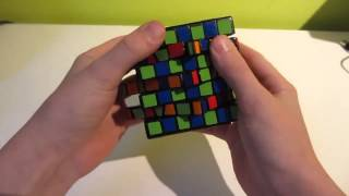 7x7 Cutter Cube: Demo and Scramble