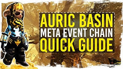Guild Wars 2 - Quick Guide to Auric Basin Gold Farm / 1080p 50fps