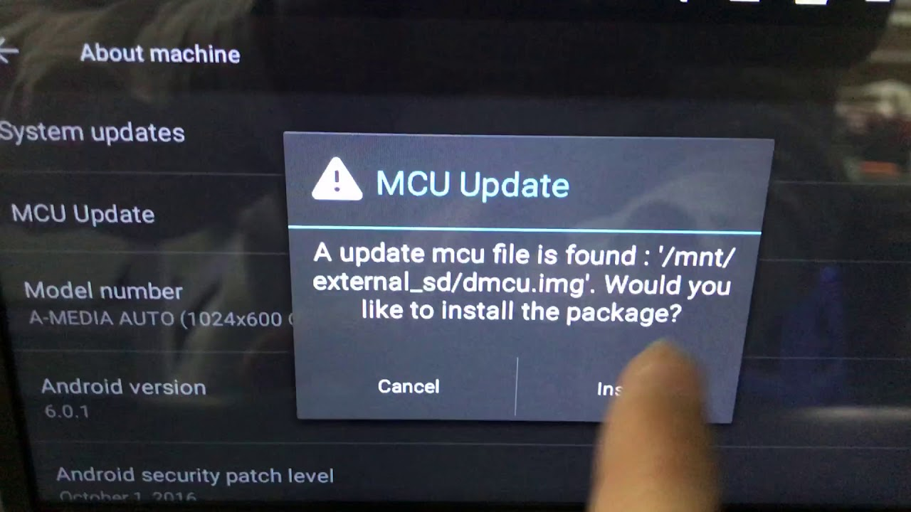 How to Update MCU of the Android Car Stereo - Скачайте видео