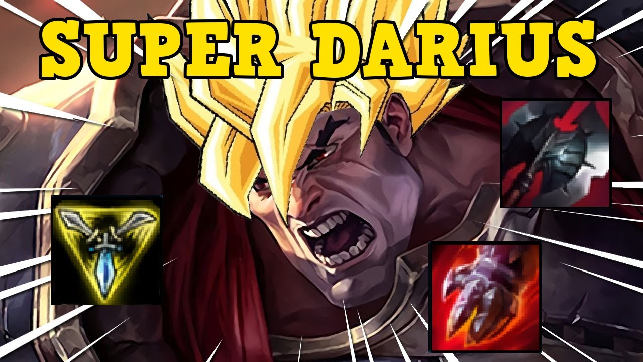 SUPER DARIUS FUNNY - League of Legends || Fakersation ||