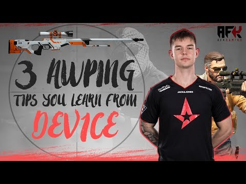 3 AWPing Tips You Learn From Astralis Dev1ce