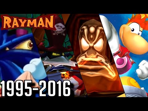Rayman - ALL Final Bosses 1995-2016 (PS1-PS4, N64-Wii U)
