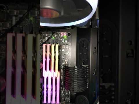 Asus Crosshair VI Q Code 98 Q LED Green