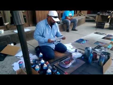Spray Paint Art - Ensenada Mexico