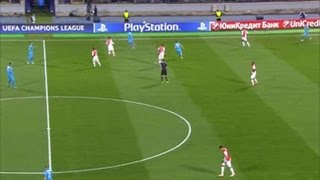 Video Gol Pertandingan Zenit Petersburg vs AS Monaco