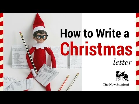 How to write a Christmas letter in 4 Easy Steps