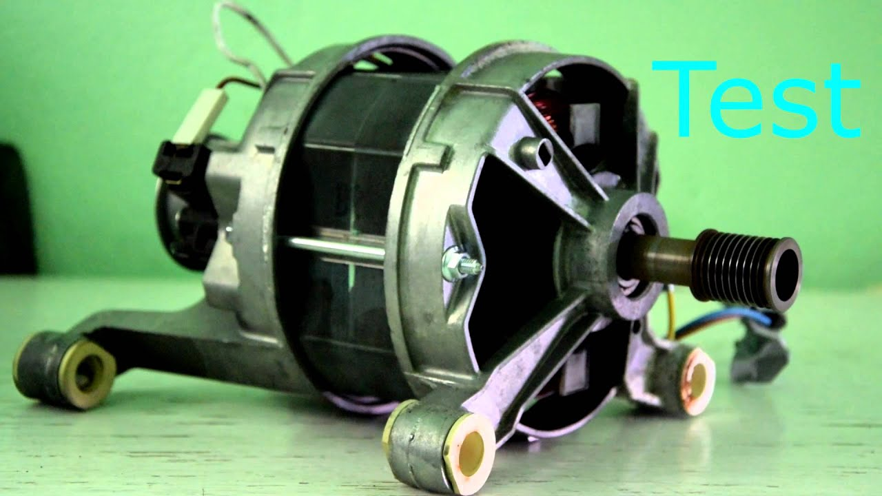 Paypal Dew How To Wire Washer Machine Electric Motor - Youtube