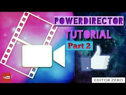 PowerDirector Part2: Como colocar música, controlar o volume e por efeitos