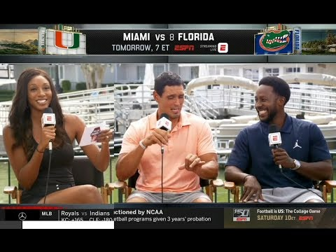 College GameDay crew previews Miami vs Florida Football 2019