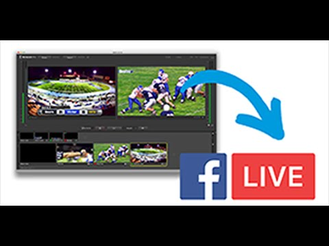 How To Stream On Facebook Live With Wirecast Windows And Mac Os