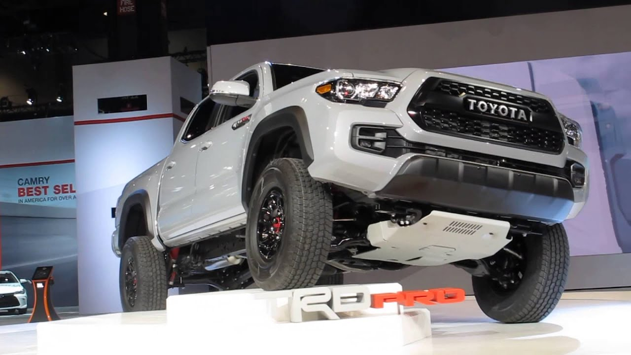 Toyota Trdpro Truck Revealed At The 2016 Chicago Auto Show Bill Fey Makes Announcement