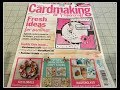 Cardmaking and Papercraft. Issue 171.Magazine review