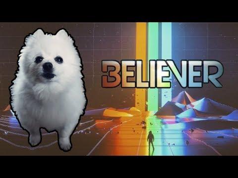 IMAGINE DRAGONS - 'BELIEVER' Em CACHORRÊS