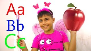 ABC  SONG LEARN ENGLISH ALPHABET FOR CHILDREN WITH GUKA