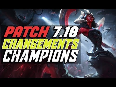 Patch 7.18 League